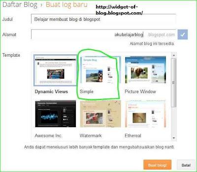 cara bikin blogspot di blogger.com