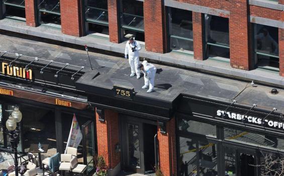 tersangka penanaman salah satu dari dua bom yang meledak di garis finish lomba lari maraton Terduga Pelaku Bom Boston Berhasil dilacak
