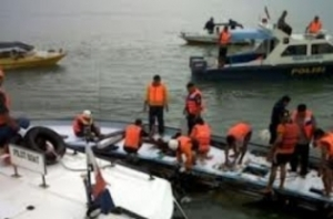 kapal tenggelam di sungai mahakam samarinda kaltim